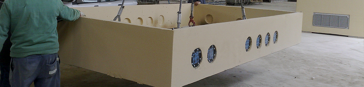 prefabricated base
