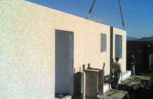 Transformer substation prefabricated panels