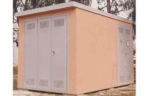 02 prefabricated transformer substation in vibrated reinforced concrete 02