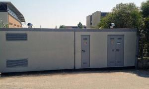 ENEL CABIN + DK 5640 MEASUREMENTS + USER BOX 630 KVA TRAFFIC