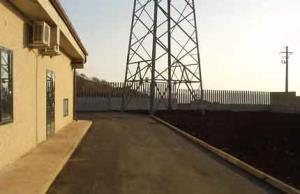 prefabricated transformation substation used as a control station