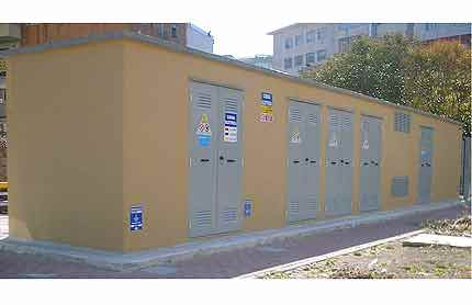monolithic prefabricated transformer substation in vibrated reinforced concrete 03