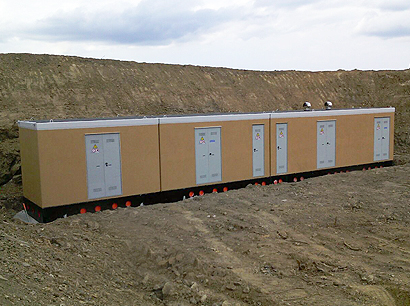 Cabins for Wind Power Plant - Eurostrutture