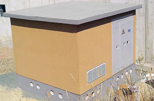 Vasche fondazione basamento prefabbricato cabina elettrica
